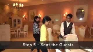 видео restaurant seating