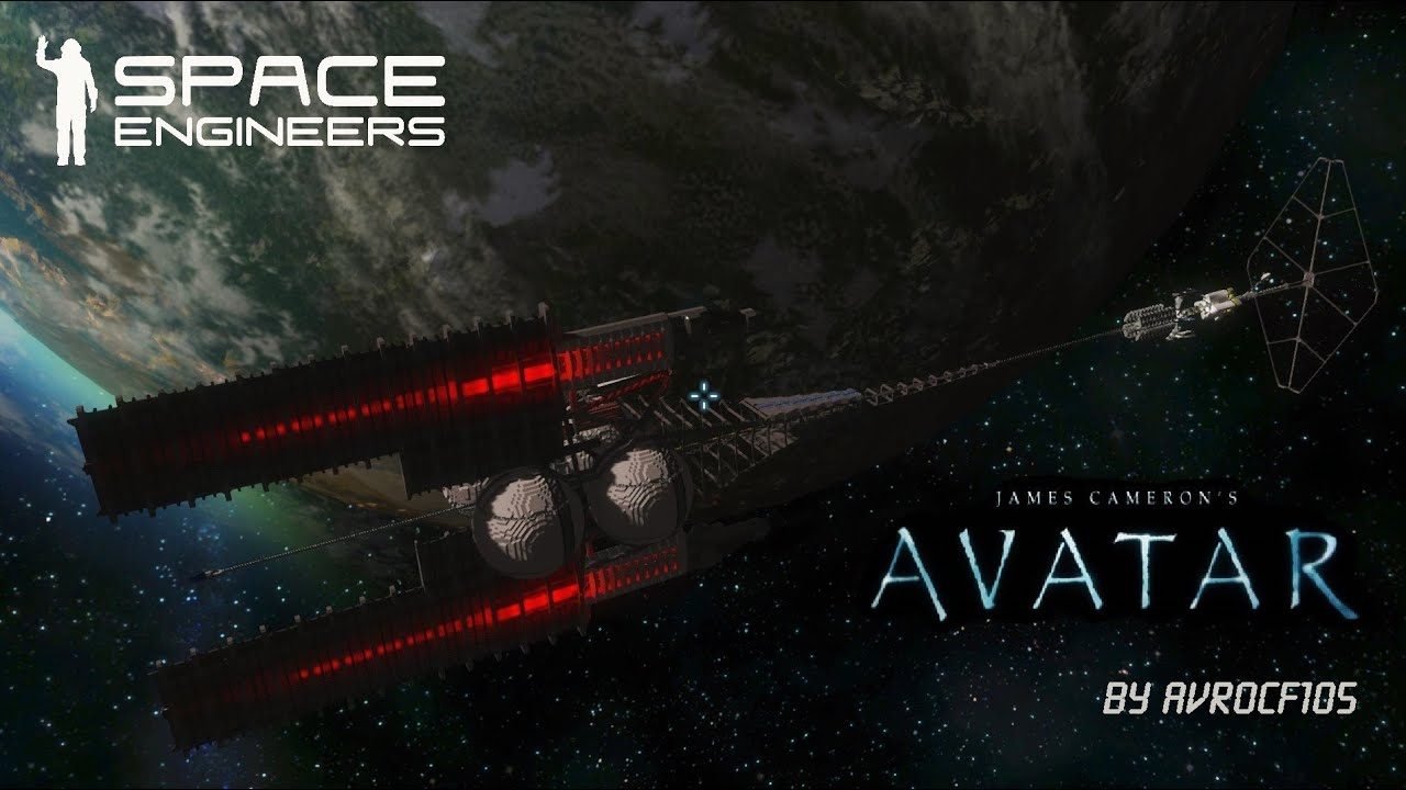 Space Engineers Steam >> Space Engineers Avatar World - YouTube