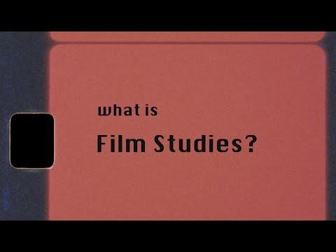 What is Film Studies?