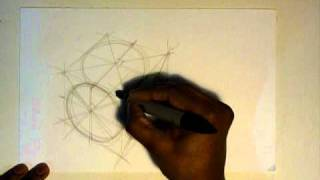 How to Draw Cars : Drawing a Wheel using the box method
