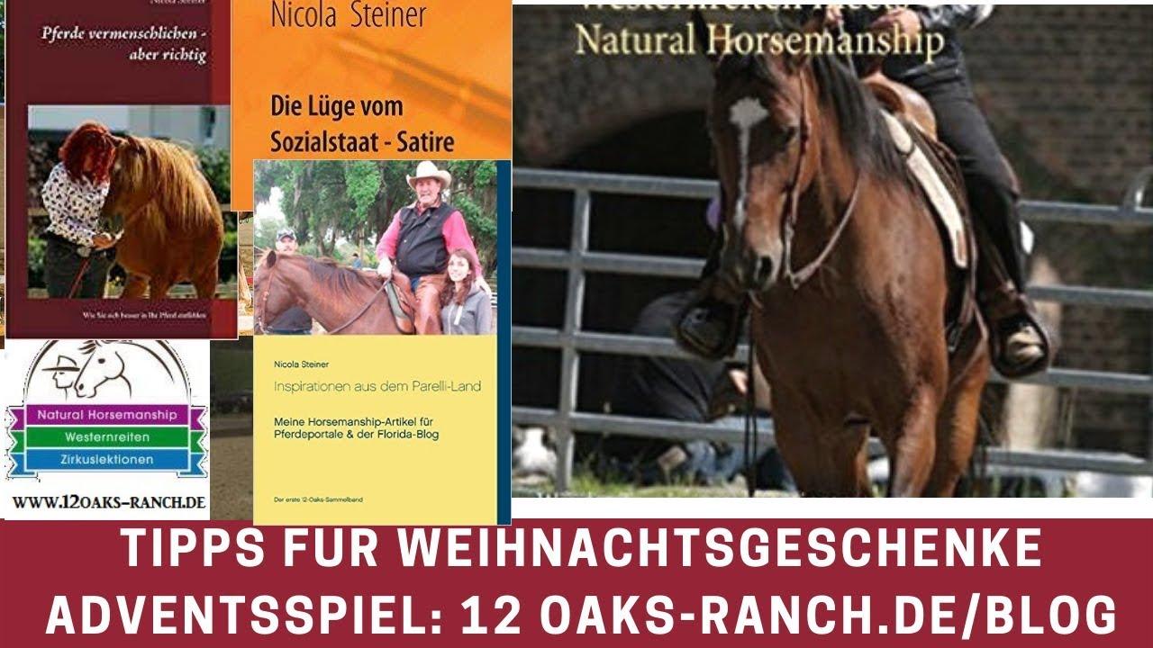 Blog Weihnachtsgeschenke.Gewinnspiel Im Blog Natural Horsemanship Weihnachtsgeschenke Adventskalender Buchtipp