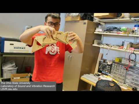 The OSU Laboratory of Sound and Vibration Research: Overview on Origami Acoustics research