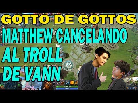 MATTHEW CANCELANDO TOTALMENTE A VANN CON SHAKER | DOTA 2