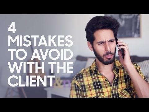 4 Mistakes To Avoid On The First Call With The Client