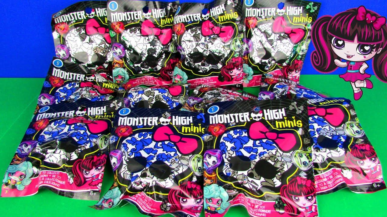Ultimate Monster High Minis Blind Bag Surprise Doll