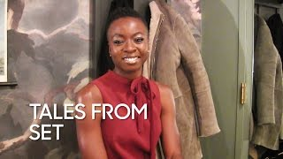"Tales from Set: Danai Gurira ""The Walking Dead"""