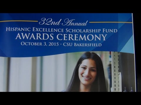CSU Bakersfield  Hispanic Excellence Scholarship Fund Ceremony