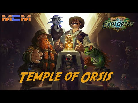 Hearthstone - League Of Explorers - Temple Of Orsis