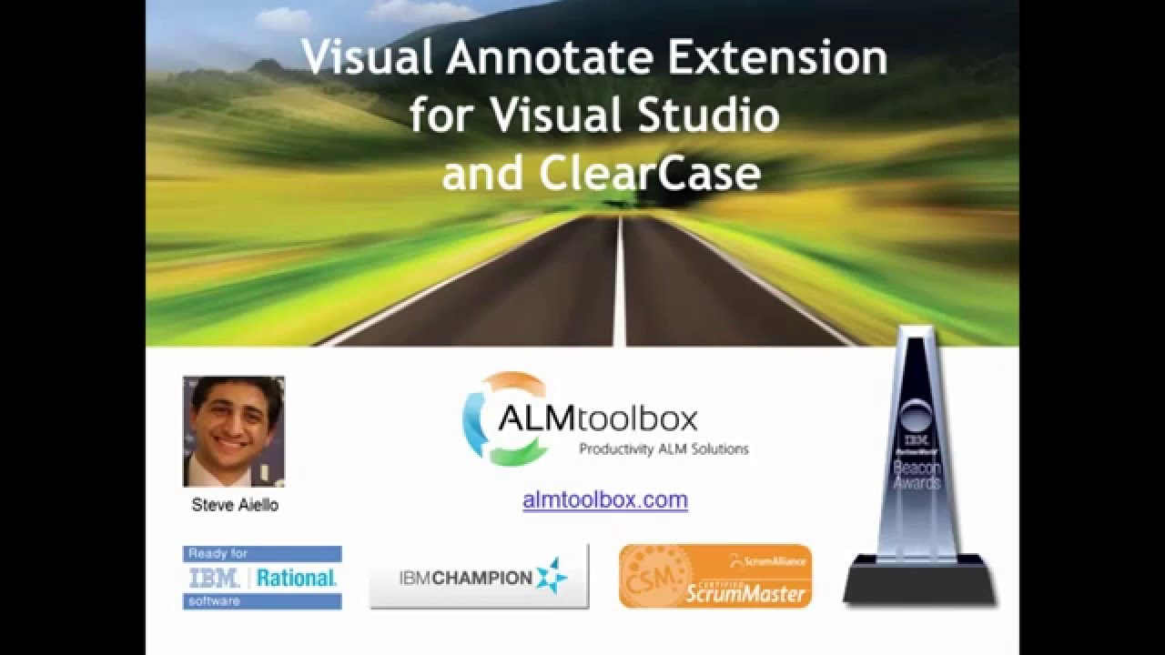 Visual Annotate Extension for Visual Studio