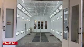 40 Ft Down Draft Paint Booth