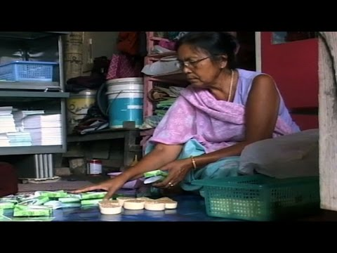 Profile story of a succesful entrepreneur Jina Khumujam - Mangal Organic soap maker