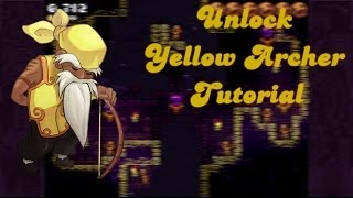 Towerfall Ascension Yellow Archer Character Unlock! How to get it! Find Triangle Gems