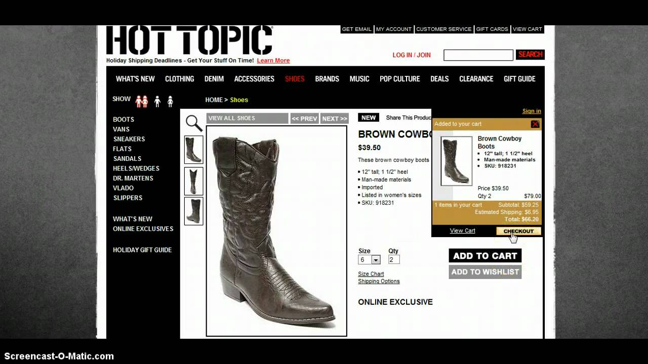 Hot topic in store coupons
