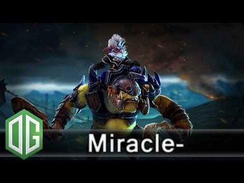 OG.Miracle- Alchemist Gameplay and Moon - Unranked Match - OG Dota 2