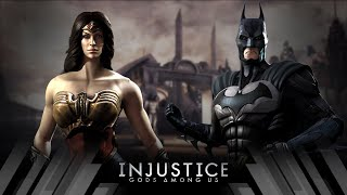 Injustice Gods Among Us - Wonder Woman Vs Batman (Very Hard)