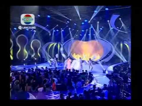Aty - Beban Asmara - Konser Final 6 Besar - DAcademy Indonesia