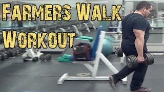 Farmers Walk Exercise - Great Workout Finisher