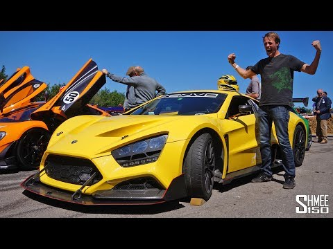 The Zenvo TSR is a 1,100hp BEAST!