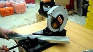 Демонстрация Evolution Rage 4. (3/4)(Новый тип переносных отрезных станков -- сочетает точность отрезного станка и легкость и цену ручной циркул..., 2011-04-19T06:48:06.000Z)