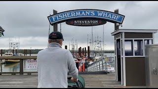 来温哥华必去的渔人码头 看海鲜 阿公最喜欢的炸鳕鱼和薯条 回家还要喝碗粥【Garden Time 田园生活分享】