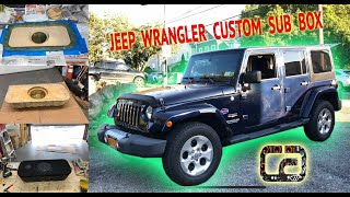 Jeep Wrangler Custom Subwoofer Box