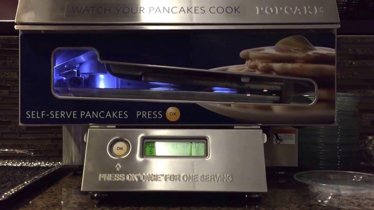 95da23ee219 Popcake Pancake Machine Making Pancakes - YouTube