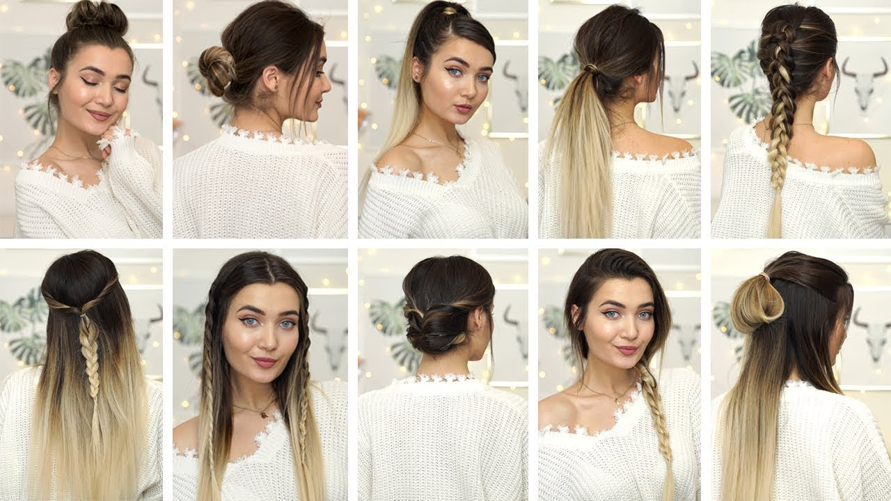 15 BRAIDED HEATLESS HAIRSTYLES IDEAS FOR WINTER! AD