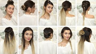 10 BRAIDED HEATLESS HAIRSTYLES IDEAS FOR WINTER! AD