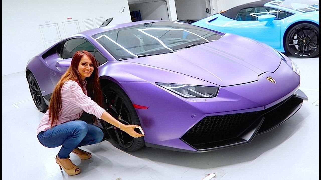 Mo Vlogs Lana Rose Lamborghini Huracan In Game