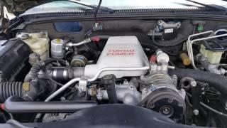 1999 Chevy Tahoe 2 Door W/ 6.5 Turbo Diesel Walkthrough And Exhaust Sound
