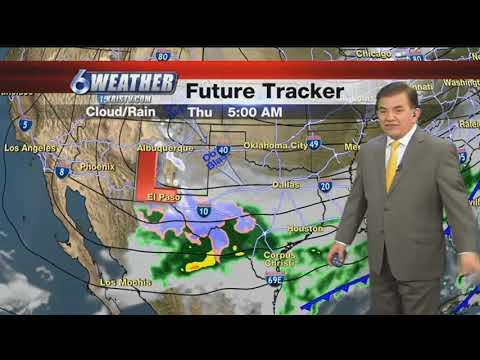 South Texas Forecast December 7, 2017
