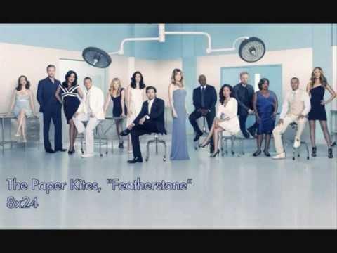 Grey's Anatomy 8x24 (The Paper Kites- Featherstone) - YouTube