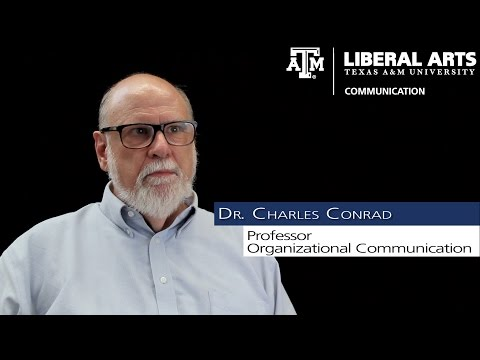 TAMU COMM Faculty Profile: Dr. Charles Conrad