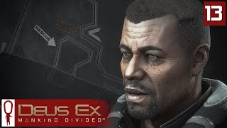 Deus Ex Mankind Divided Gameplay Part 13 - Taking Care of Business - Lets Play [Stealth Pacifist PC]