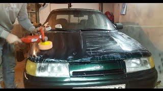 Учимся полировать авто