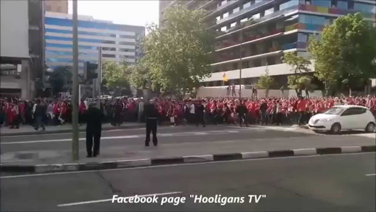Bayern Fans In Madrid