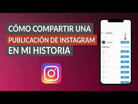 Cómo Compartir una Publicación de Instagram en mi Historia