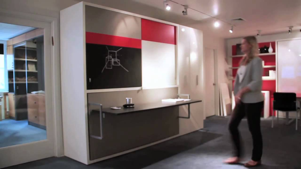 Poppi Board Desk Resource Furniture Wall Bed Systems Youtube