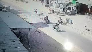 Over speed ,wrong side, triple ride ,without helmet , result 4 dead accident meet in haridwar