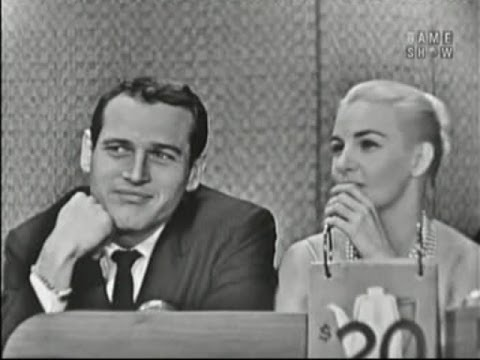 What's My Line? - Paul Newman & Joanne Woodward; Art Linkletter [panel] (Nov 8, 1959)