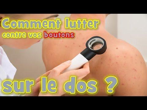 Boutons dans le dos  causes, solutions et traitements contre l acné ... c49b42bb610