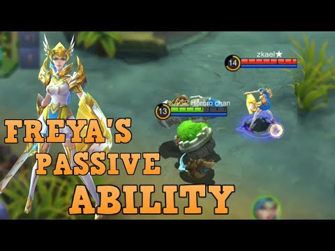 FREYA'S PASSIVE ON SOME ITEMS