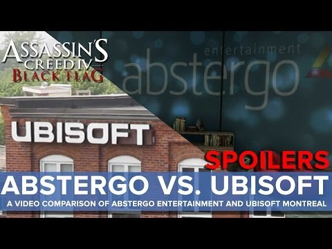 Abstergo vs. Ubisoft - A Video Comparison Of Abstergo Entertainment and Ubisoft Montreal - Eurogamer
