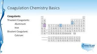 Learn about Coagulation Chemistry Basics in this excerpt from our W...