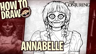 How to Draw ANNABELLE (The Conjuring) | Narrated Easy Step-by-Step Tutorial