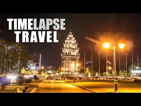 TIMELAPSE Travel 2016 in Malaysia, Indonesia, Thailand and Cambodia