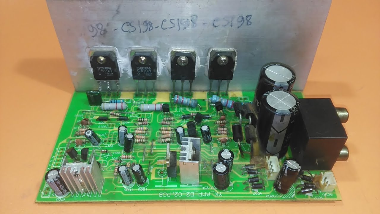how to repair a1941 and c5198 amplifier? how to repair ...