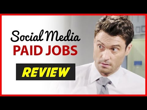 Paid Social Media Jobs REVIEW - How To Make Money With Social Media!
