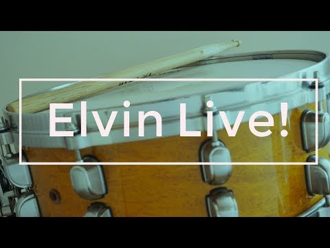 John Coltrane's Drummer Elvin Jones Live in Italy - 80s