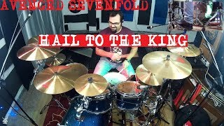 Avenged Sevenfold - Hail To The King Drum Cover